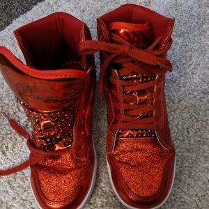 Pastry Glitter Sneakers